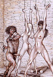 Strung up by the thumbs - Sold as slaves by Tim Richards