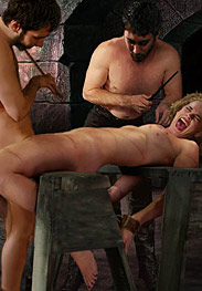 Witch hunt - Emma began to choke down the giant cock with renewed vigor by Damian 2015